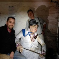 Tin Shed's Mr. Waldo Under Milk Wood (l-r) Matthew Hughes & Andrew Isaacs (Large)