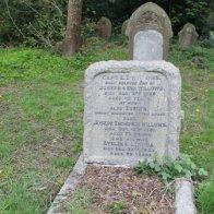Ernest Thompson Willows grave.