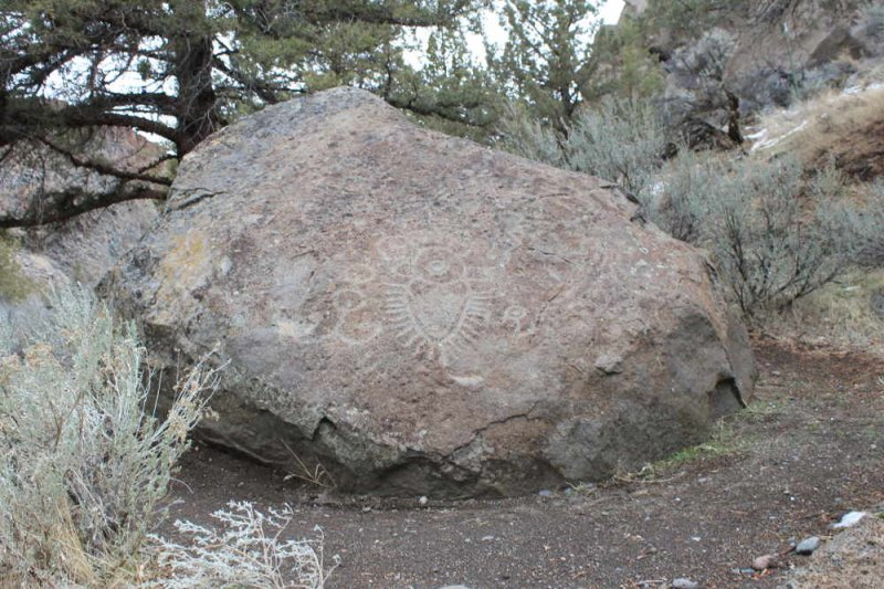 Crooked River Petroglyph