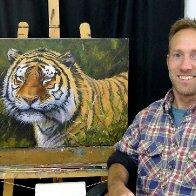 Welsh Artist Chris Chalk