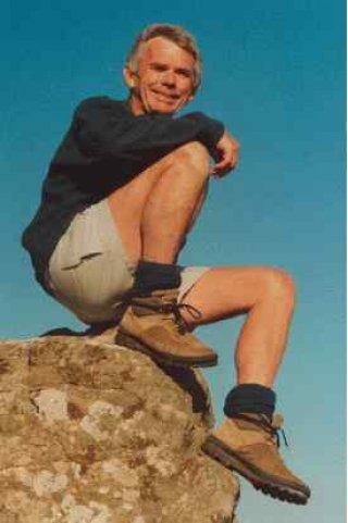Welsh author Brian John