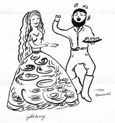 Goldberry wife of Tom Bombadil