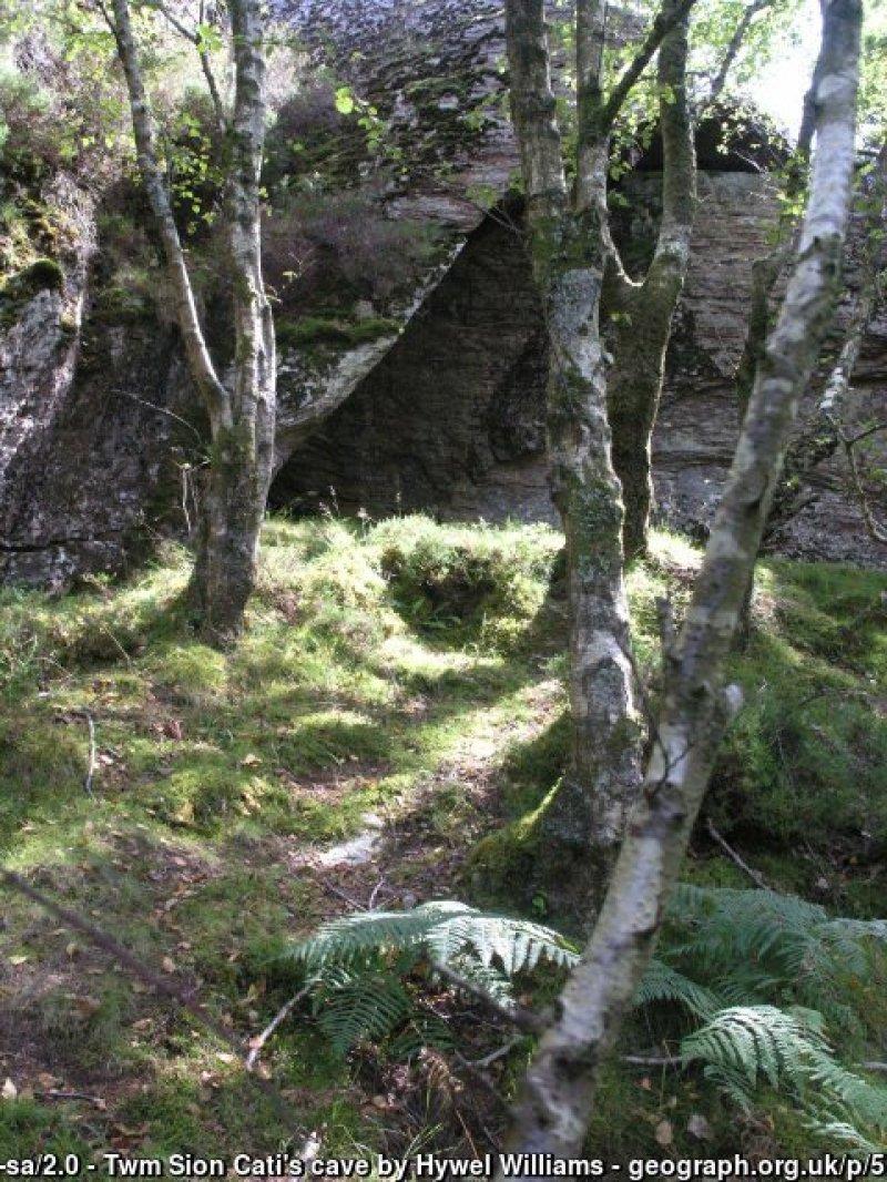Twm Sion Catis cave near Llanymddyfri