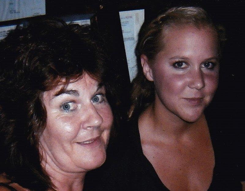 Gwenno Dafydd with Amy Schumer
