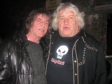 Paul Durden with Howard Marks