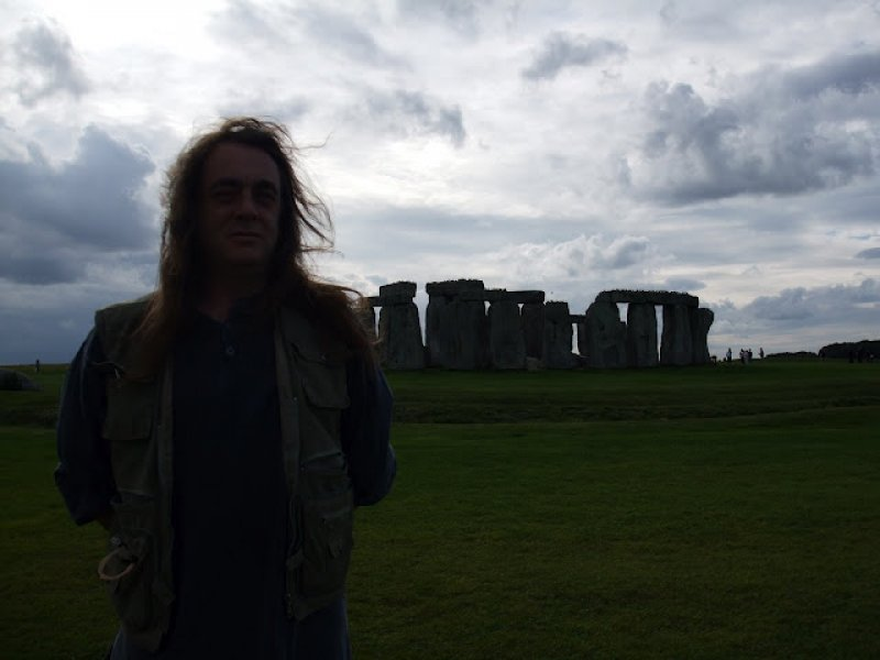 Dennis at Stonehenge
