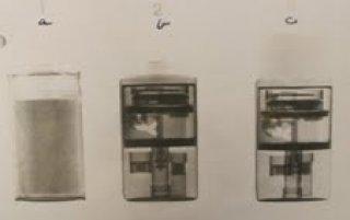 x-rays of detonators inside batteries