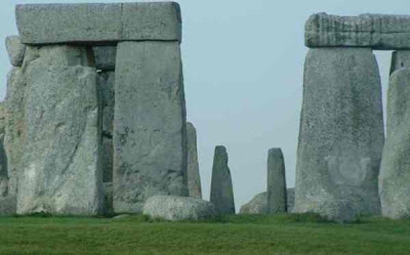 The bluestones at Stonehenge