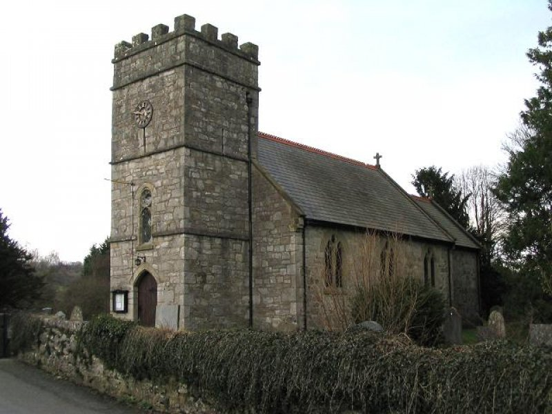 Christ Church at Rhydycroesau - geograph.org.uk - 325803