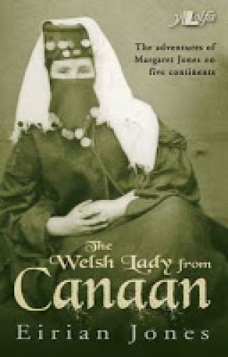 the welsh lady from canaan by eirian jones front cover detail