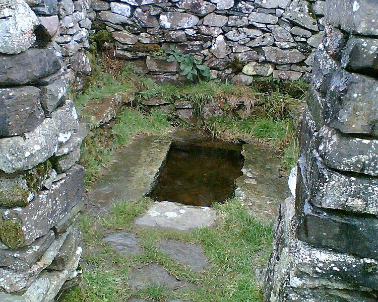 Llangelynnin holy well