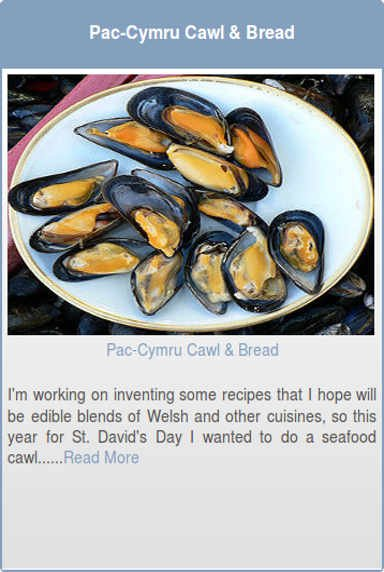 Pac-Cymru Cawl and Bread