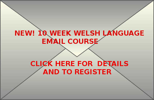 Croeseiriau Cymraeg Welsh language email course. Click here for more details and to register