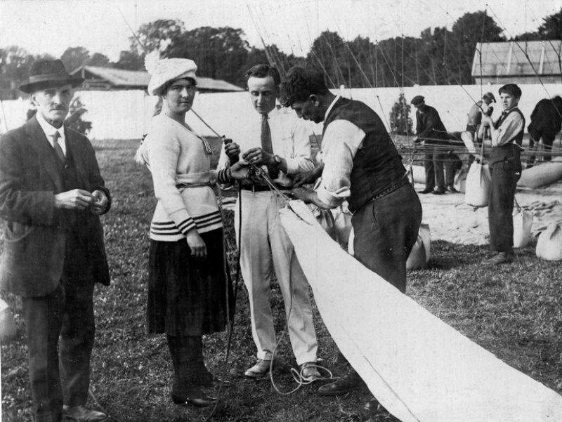 Elsa Spencer, Cardiff 1919