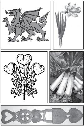 Welsh tattoo symbols