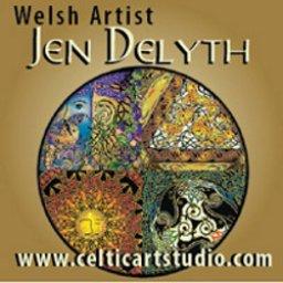 Celtic artist Jen Delyth site link