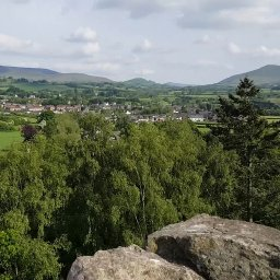 Talgarth From Bronllys Castle