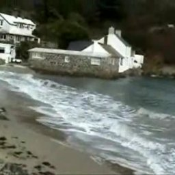 WALES. 'The pub on the Beach'