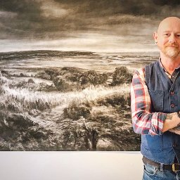 artist-portrays-beautiful-anglesey-landscapes-with-charcoal-and-oil-paintings
