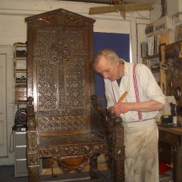 award-hopes-for-west-wales-craftsman-who-restored-first-world-war-poet-hedd-wyns-bardic-chairs
